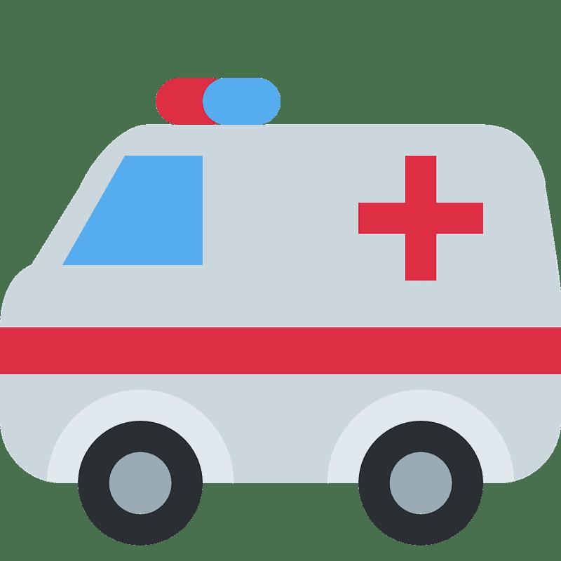 Ambulance clipart transparent background 3