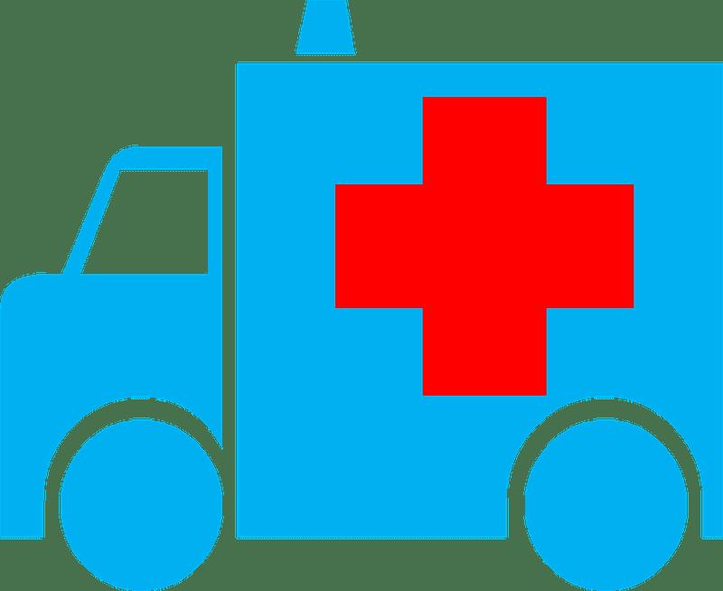 Ambulance clipart transparent background 6