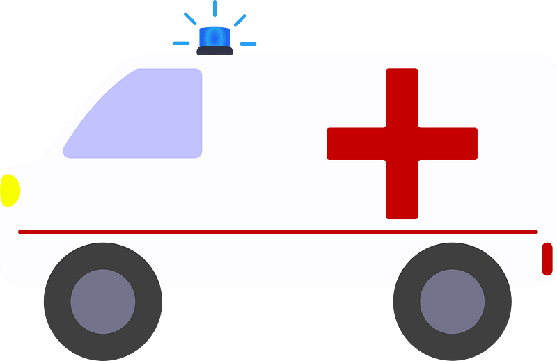 Ambulance clipart transparent background 7