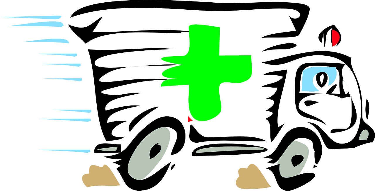 Ambulance clipart transparent background 9