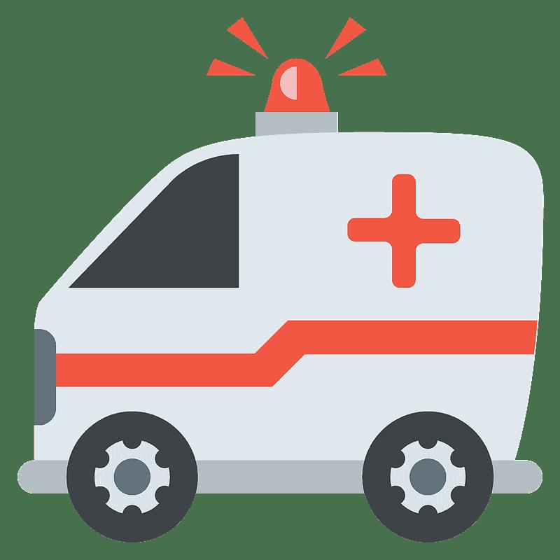 Ambulance clipart transparent background