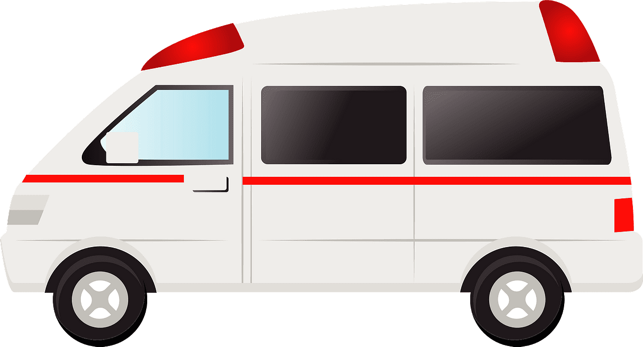 Ambulance clipart transparent for kids