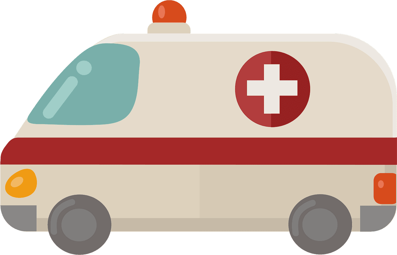 Ambulance clipart transparent images