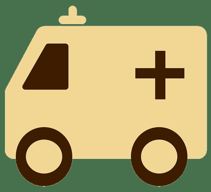 Ambulance clipart transparent