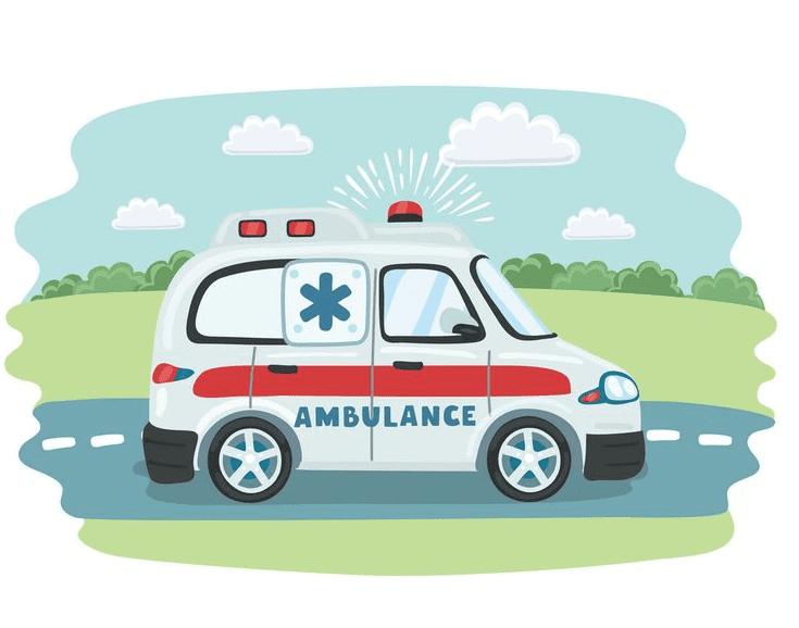 Free Ambulance clipart image