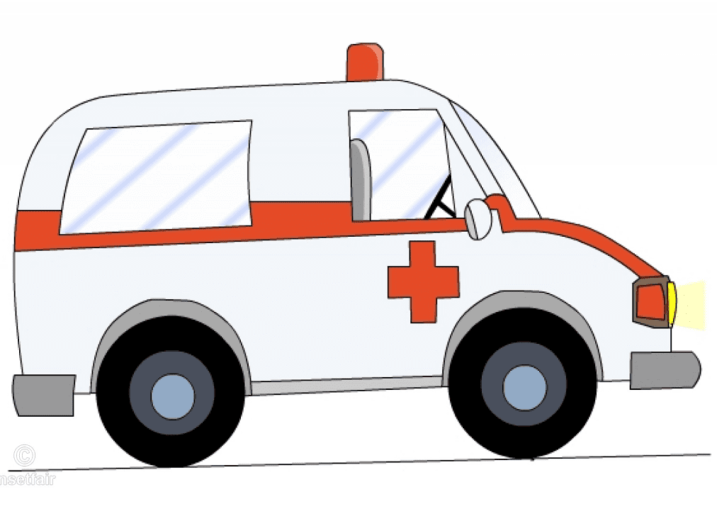 Free Ambulance clipart picture