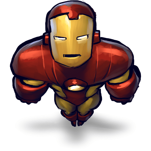 Free Iron Man clipart for kid