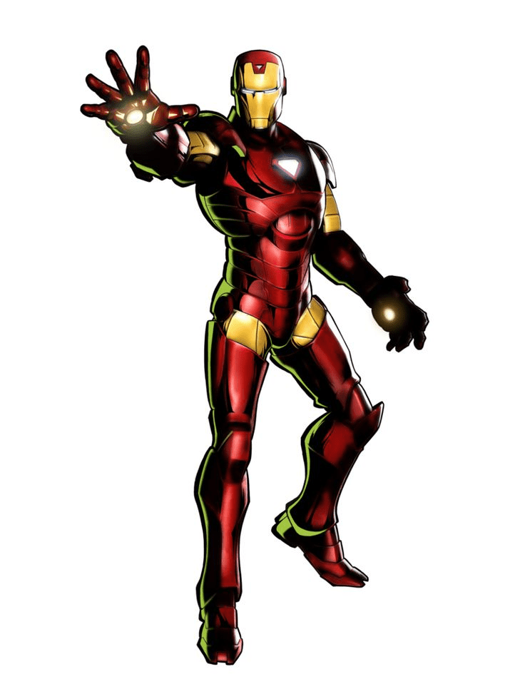 Free Iron Man clipart image