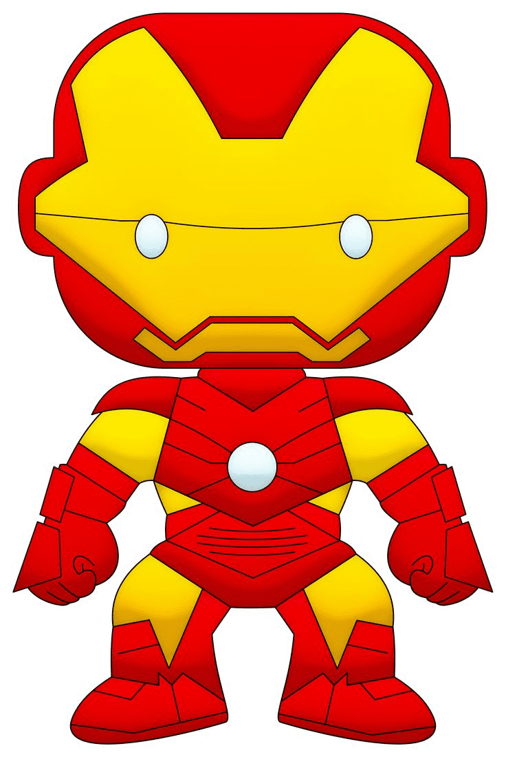 Free Iron Man clipart picture