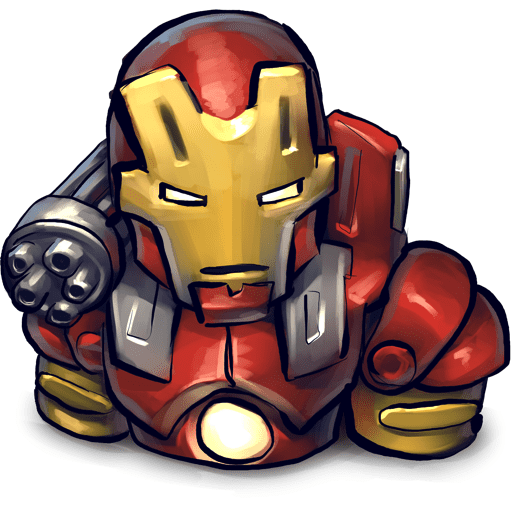 Free Iron Man clipart png image