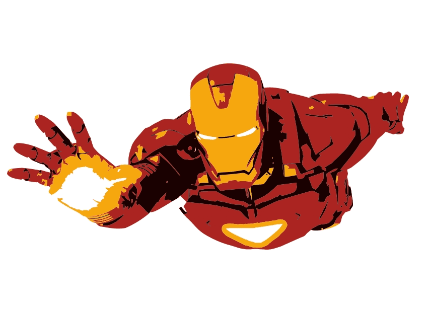 Free Iron Man clipart png images