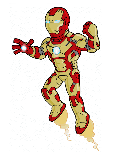Free Iron Man clipart png picture
