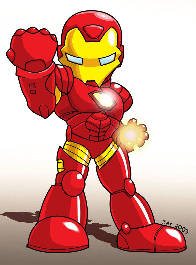 Free Iron Man clipart png