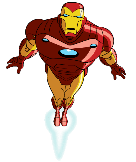 Free Iron Man clipart