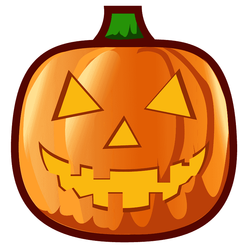Free Jack O Lantern clipart png for kid
