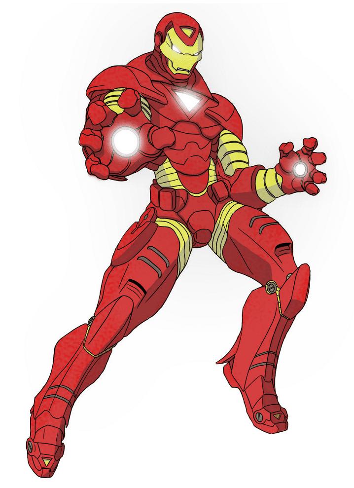 Iron Man clipart 3