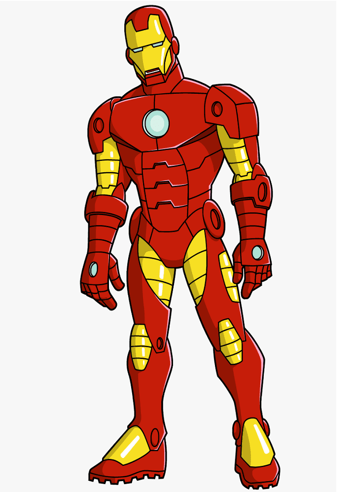 Iron Man clipart 8