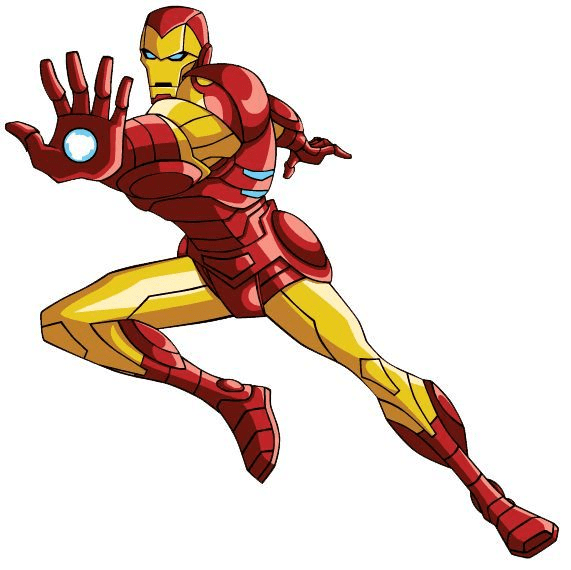Iron Man clipart for free