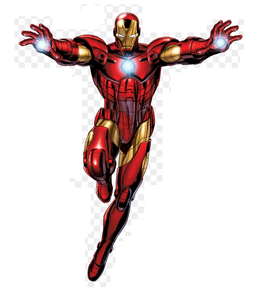 Iron Man clipart for kid