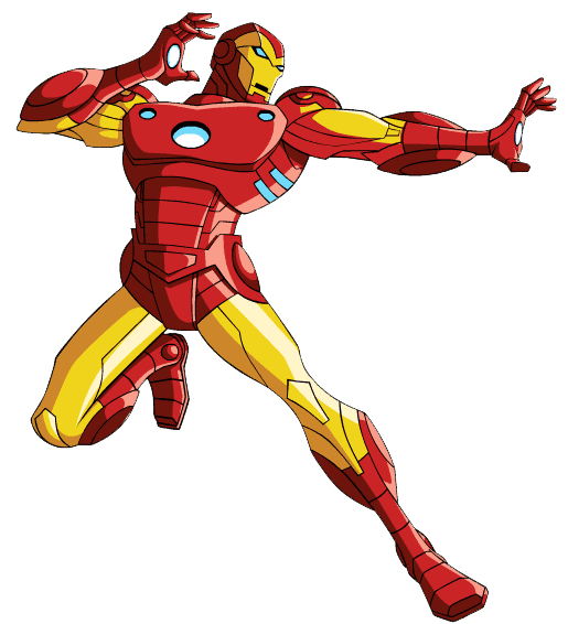 Iron Man clipart free for kids