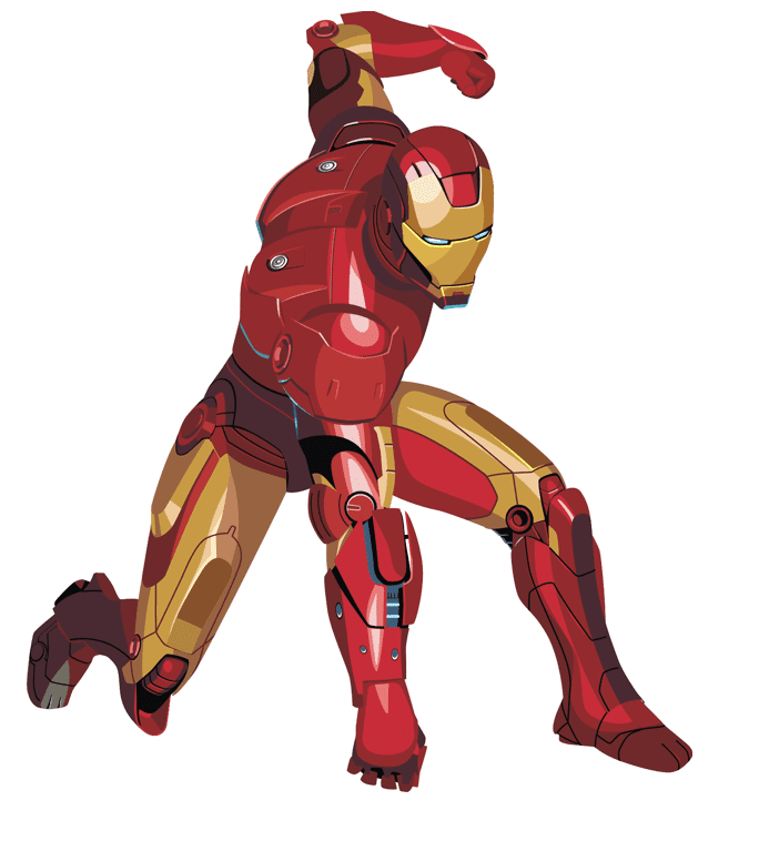 Iron Man clipart png 1