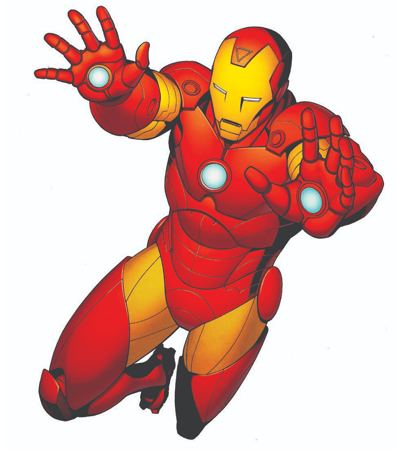 Iron Man clipart png 10