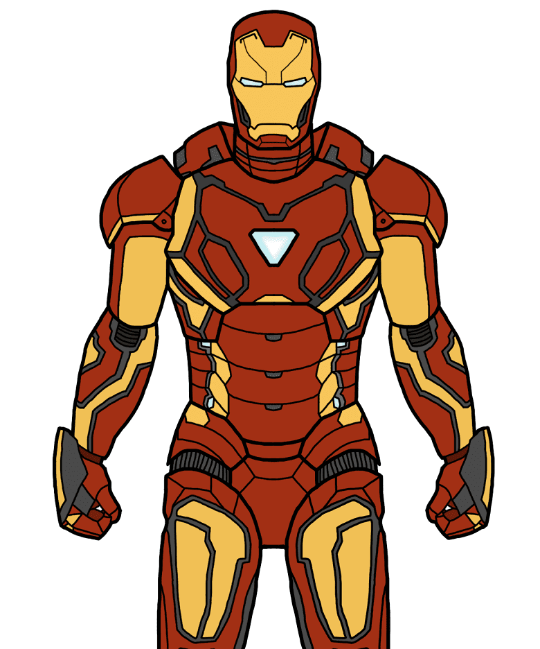 Iron Man clipart png 3