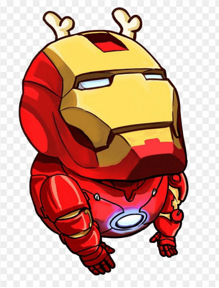 Iron Man clipart png 4
