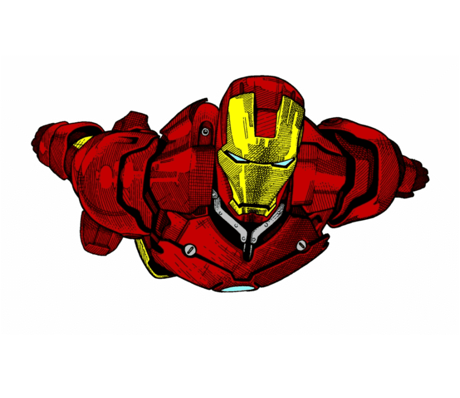 Iron Man clipart png 5