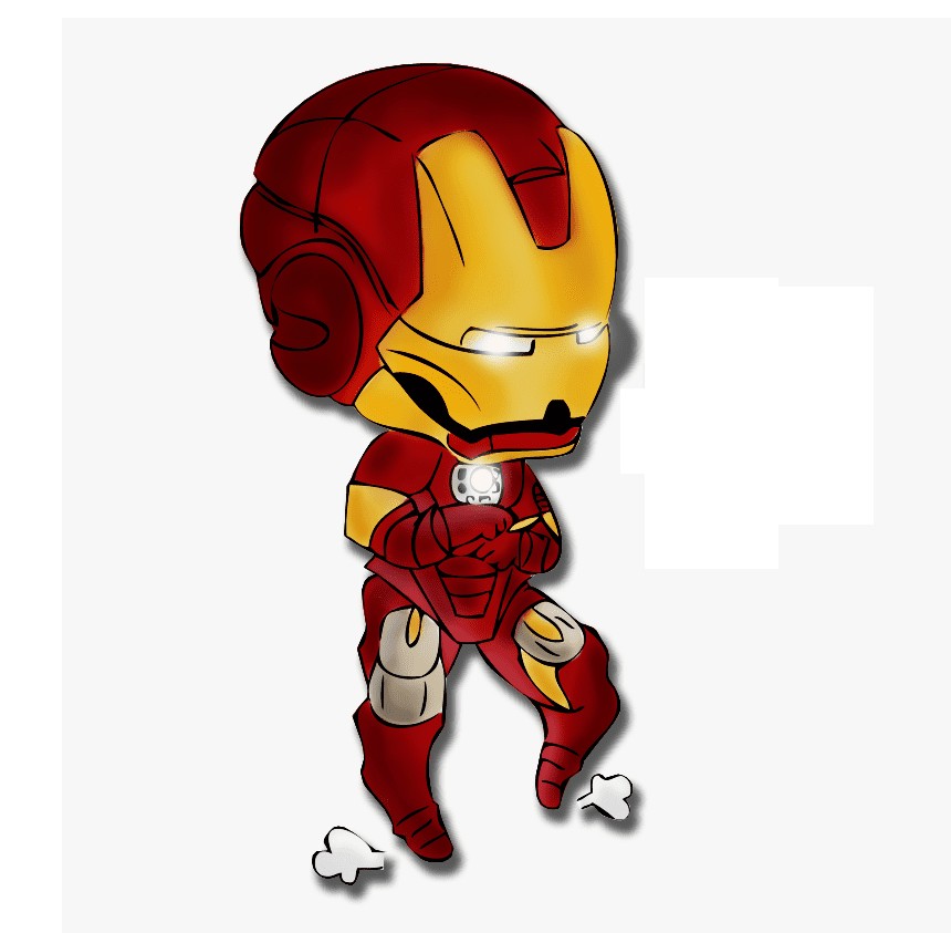 Iron Man clipart png 6