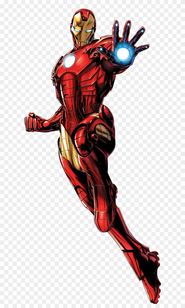 Iron Man clipart png for kid