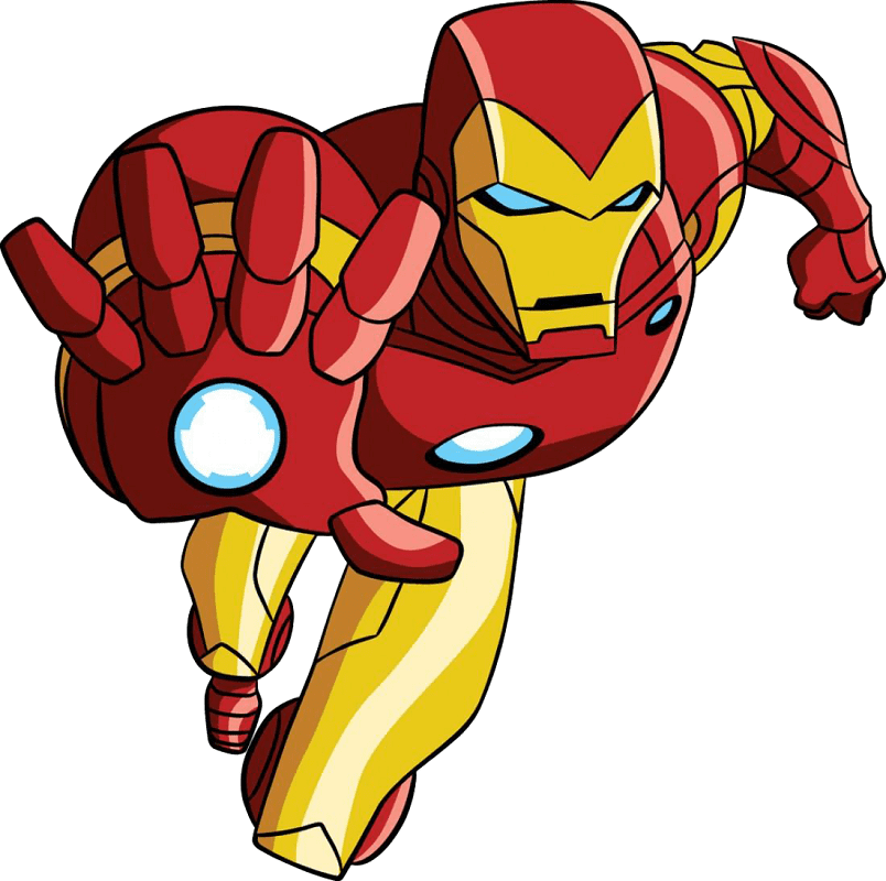 Iron Man clipart png