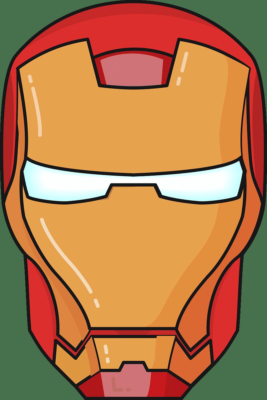 Iron Man clipart transparent