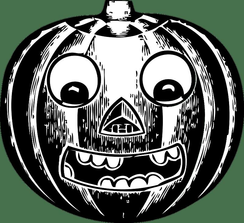 Jack O Lantern clipart 1
