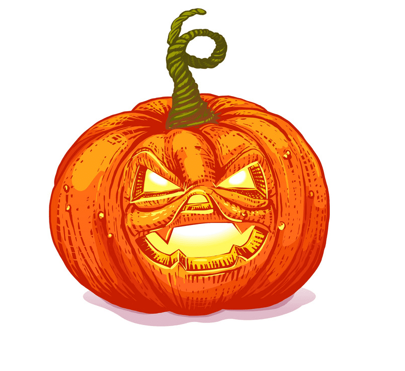 Jack O Lantern clipart free picture