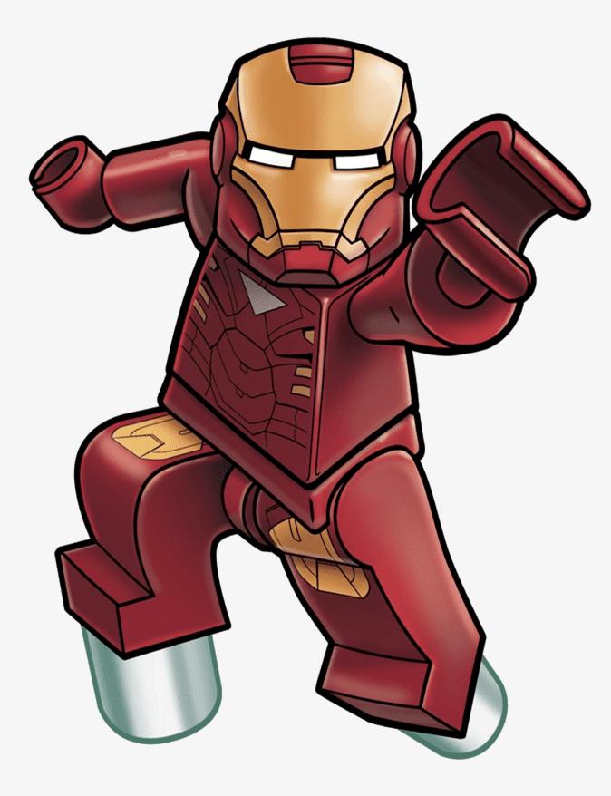 Lego Iron Man clipart